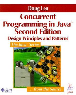 Cover of Concurrent Programming in Java