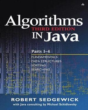 Cover of Algorithms in Java