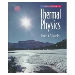 Cover of Introduction to Thermal Physics       Cp
