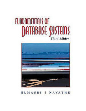 Cover of Fundamentals of Database Systems