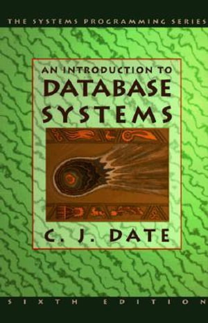 Cover of An Introduction to Database Systems