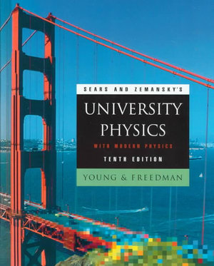 Cover of Sears and Zemansky's university physics