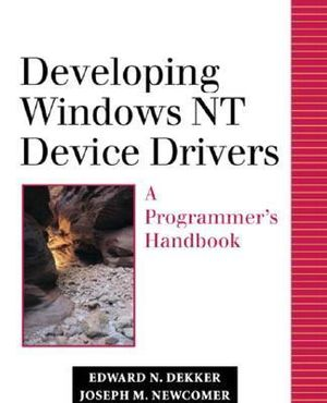 Cover of Developing Windows NT Device Drivers