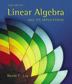 Cover of Linear Algebra and Its Applications