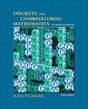 Cover of Discrete and Combinatorial Mathematics