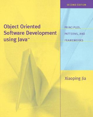 Cover of Object-oriented software development using Java