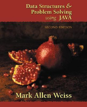 Cover of Data Structures and Problem Solving Using Java