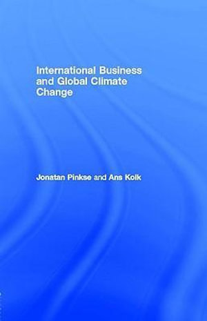Cover of International Business and Global Climate Change