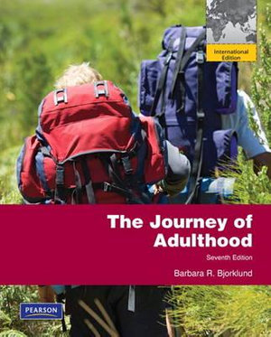 Cover of Journey of Adulthood