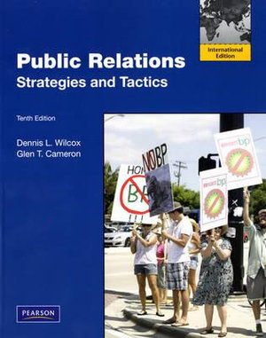 Cover of Public Relations: Strategies and Tactics Pearson International Edition