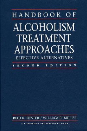 Cover of Handbook of Alcoholism Treatment Approaches