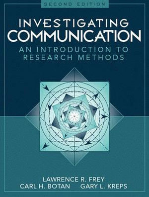 Cover of Investigating Communication