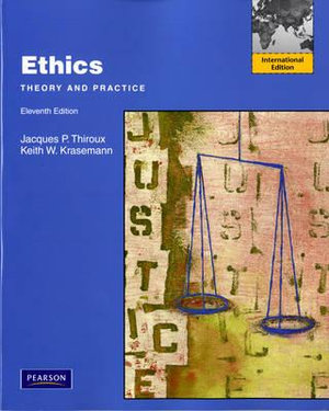 Cover of Ethics: Theory and Practice Pearson International Edition