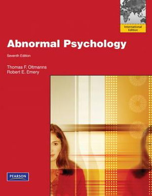 Cover of Abnormal Psychology Pearson International Edition