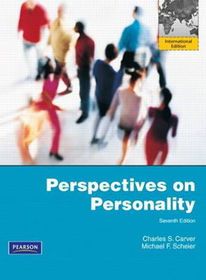 Cover of Perspectives on Personality Pearson International Edition