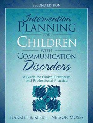 Cover of Intervention Planning for Children with Communication Disorders