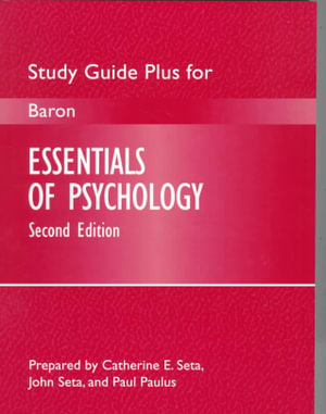 Cover of Essentials of Psychology