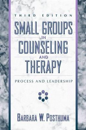 Cover of Small Groups in Counseling and Therapy