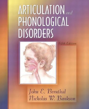Cover of Articulation and Phonological Disorders