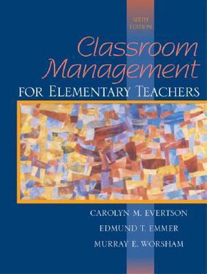 Cover of Classroom Management for Elementary Teachers