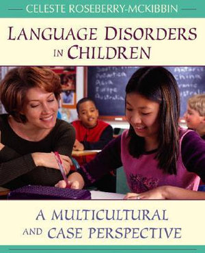 Cover of Language Disorders In Children: A Multicultural And Case Perspective