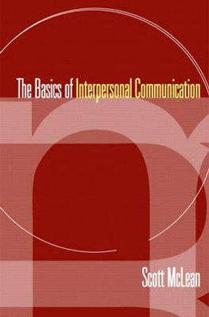 Cover of Basics Interpersonal Communication   Cp