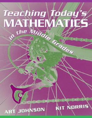 Cover of Teaching Today's Mathematics in the Middle Grades