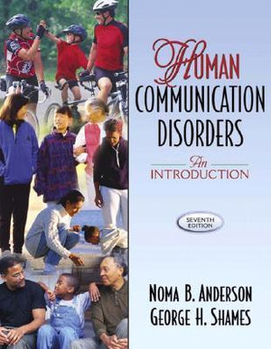 Cover of Human Communication Disorders: An Introduction