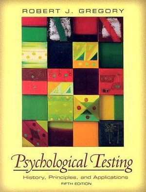 Cover of Psychological Testing                Cp