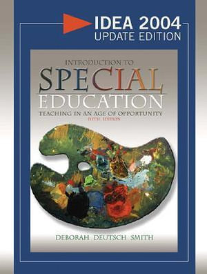 Cover of Introduction to Special Education