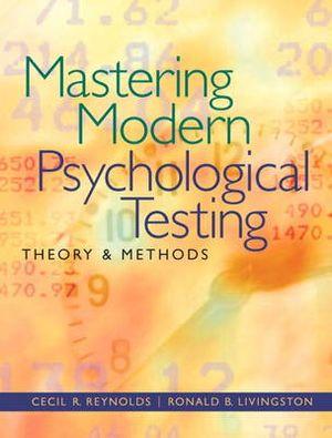 Cover of Mastering Modern Psychological Testing