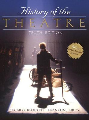 Cover of History of the Theatre