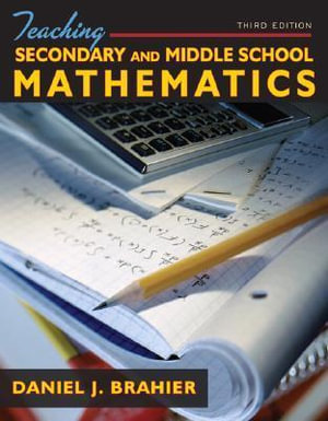 Cover of Teaching Secondary and Middle School Mathematics