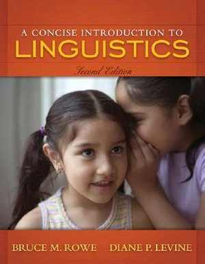 Cover of A Concise Introduction to Linguistics