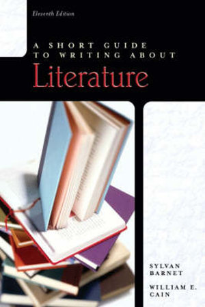 Cover of A Short Guide to Writing About Literature