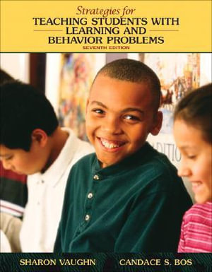 Cover of Strategies for Teaching Students with Learning and Behavior Problems