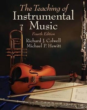 Cover of The Teaching of Instrumental Music
