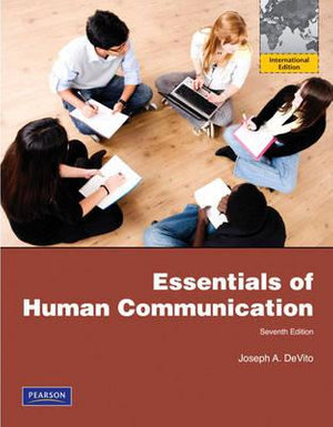 Cover of Essentials of Human Communication