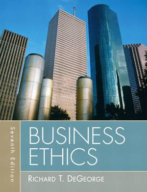 Cover of Business Ethics         cp