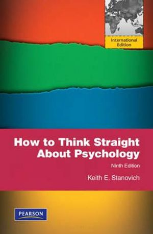 Cover of How to Think Straight about Psychology