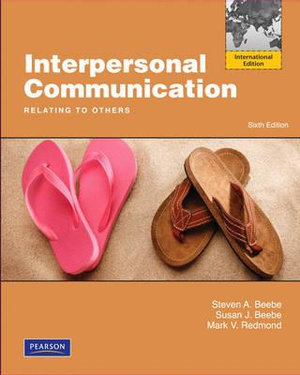 Cover of Interpersonal Communication: Relating to Others Pearson International   Edition