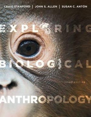 Cover of Exploring Biological Anthropology