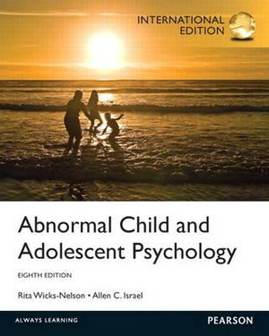 Cover of Abnormal Child and Adolescent Psychology Pearson International Edition
