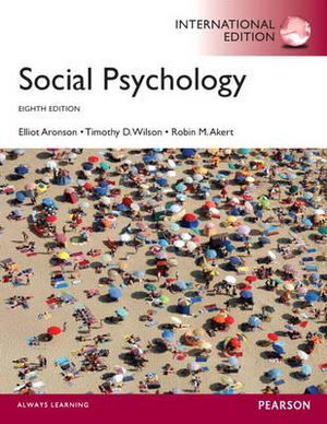 Cover of Social Psychology Pearson International Edition