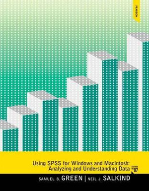 Cover of Using SPSS for Windows and Macintosh