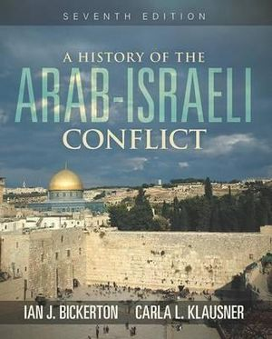 Cover of A History of the Arab-Israeli Conflict