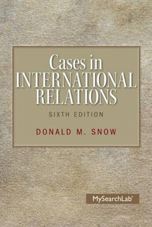 Cover of Cases in International Relations