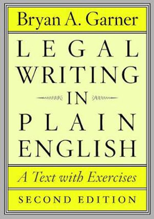 Cover of Legal Writing in Plain English