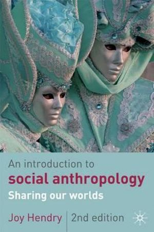 Cover of An Introduction to Social Anthropology