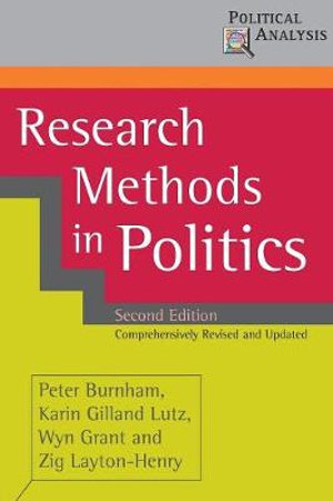 Cover of Research Methods in Politics
